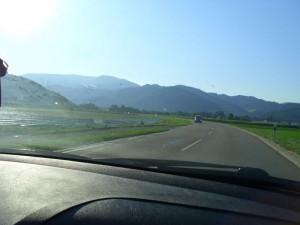 Straße nach Waldkirch